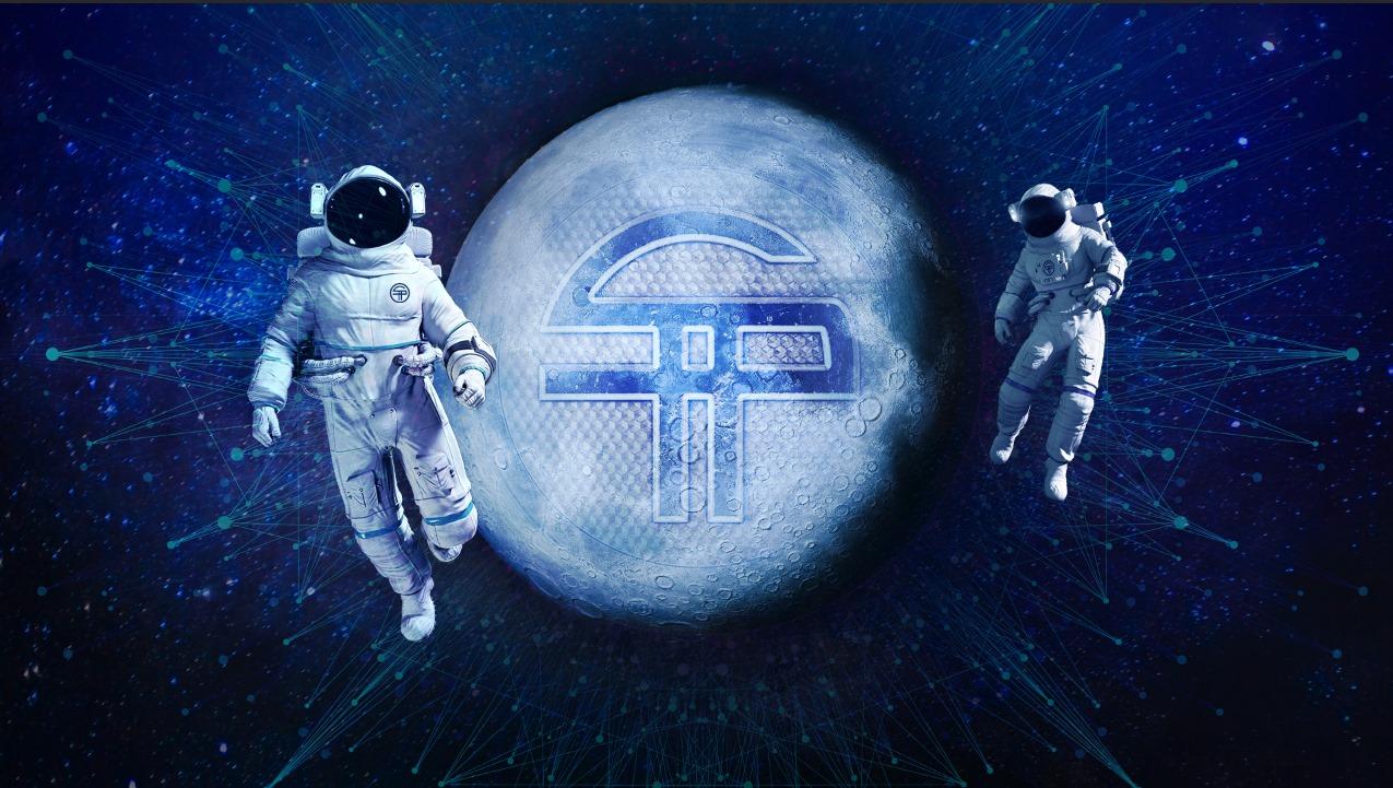 Thanks from the SaTT Team on the Moon