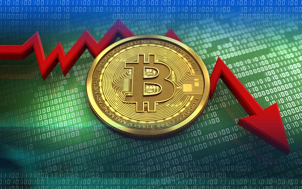 Bitcoin plunge down 7%