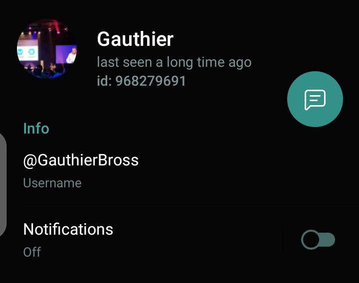 Telegram Profile
