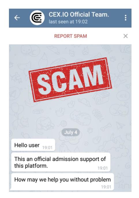 Teegram Scam