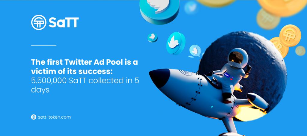 Twitter First Ad Pool SaTT